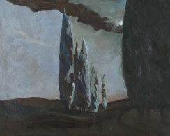 Moonlight Sonata 2012 oil on canvas<br /> 41 x 51 cm